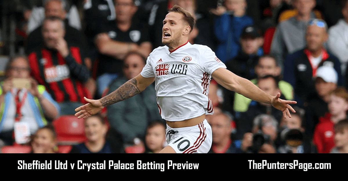 Sheffield Utd v Crystal Palace Betting Preview, Odds & Tips