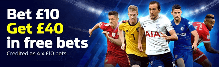William Hill Bet £10 Get £40 Offer