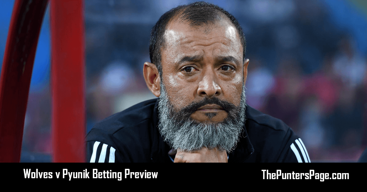 Wolves v Pyunik Betting Preview, Odds & Tips
