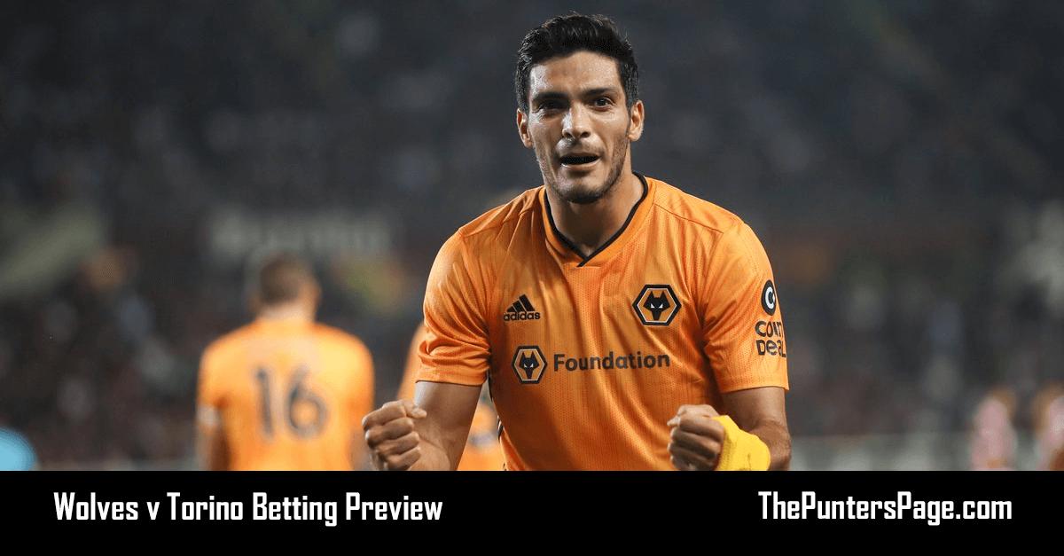 Wolves v Torino Betting Preview, Odds & Tips