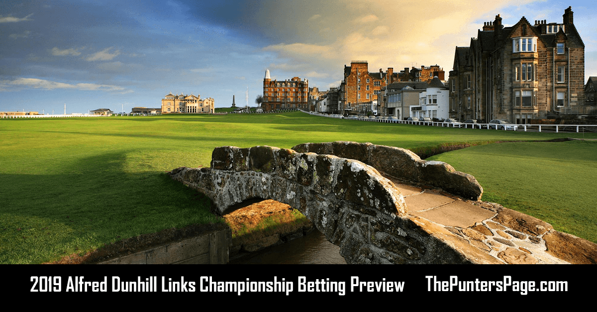 2019 Alfred Dunhill Links Championship Betting Preview, Odds & Tips