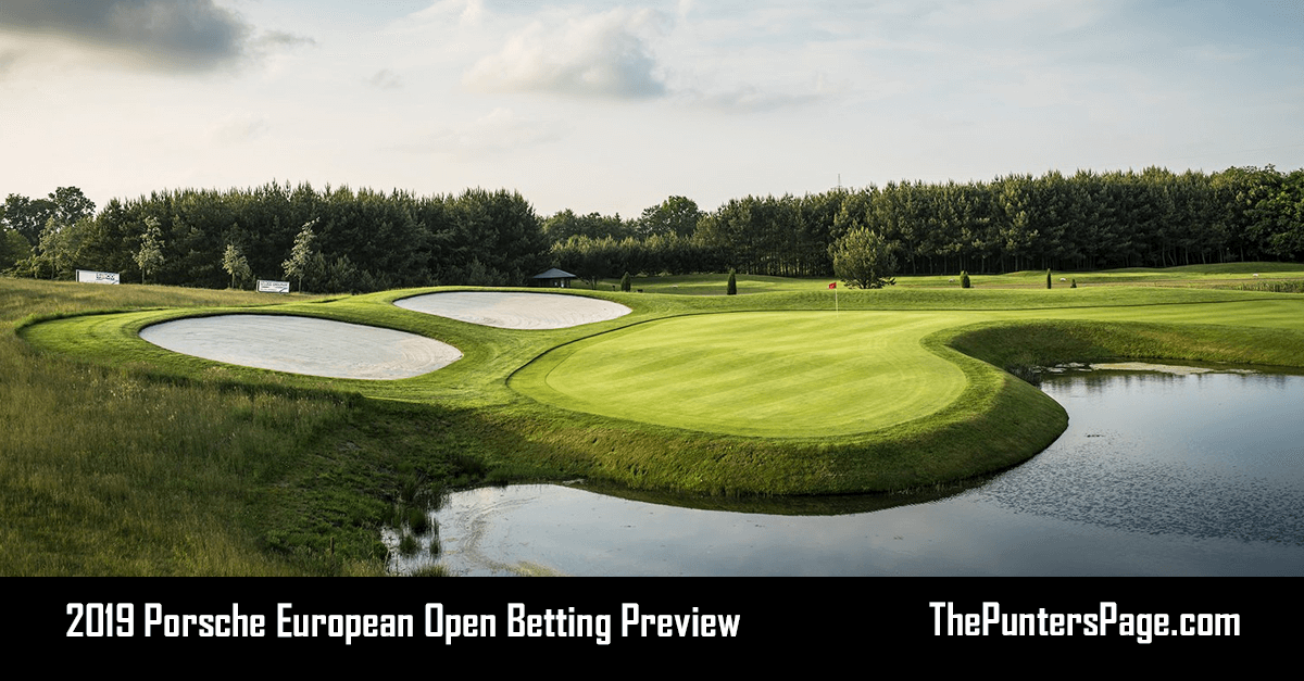 2019 Porsche European Open Betting Preview, Odds & Tips