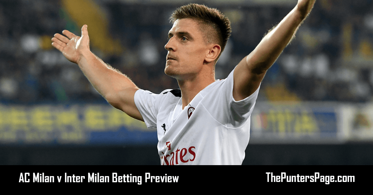 AC Milan v Inter Milan Betting Preview, Odds And Tips