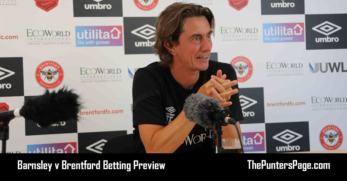 Barnsley v Brentford Betting Preview, Odds & Tips