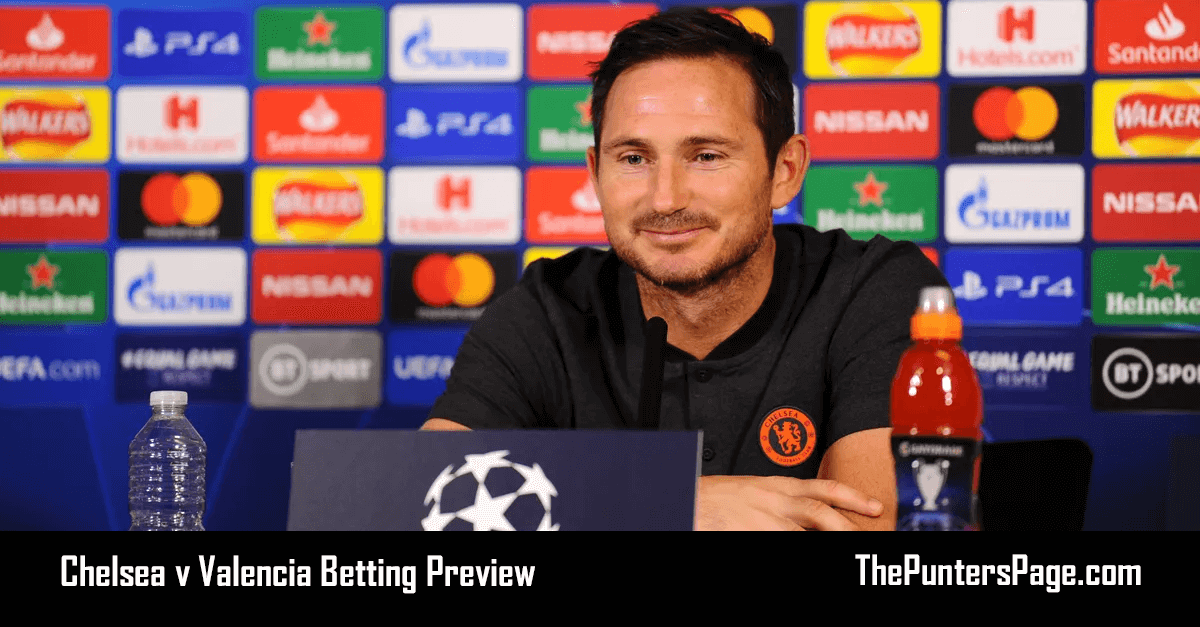 Chelsea v Valencia Betting Preview, Odds & Tips