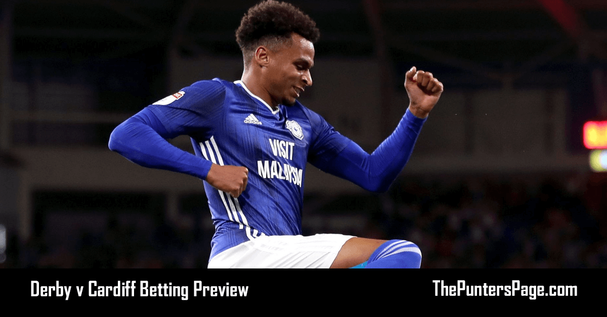 Derby v Cardiff Betting Preview, Odds & Tips