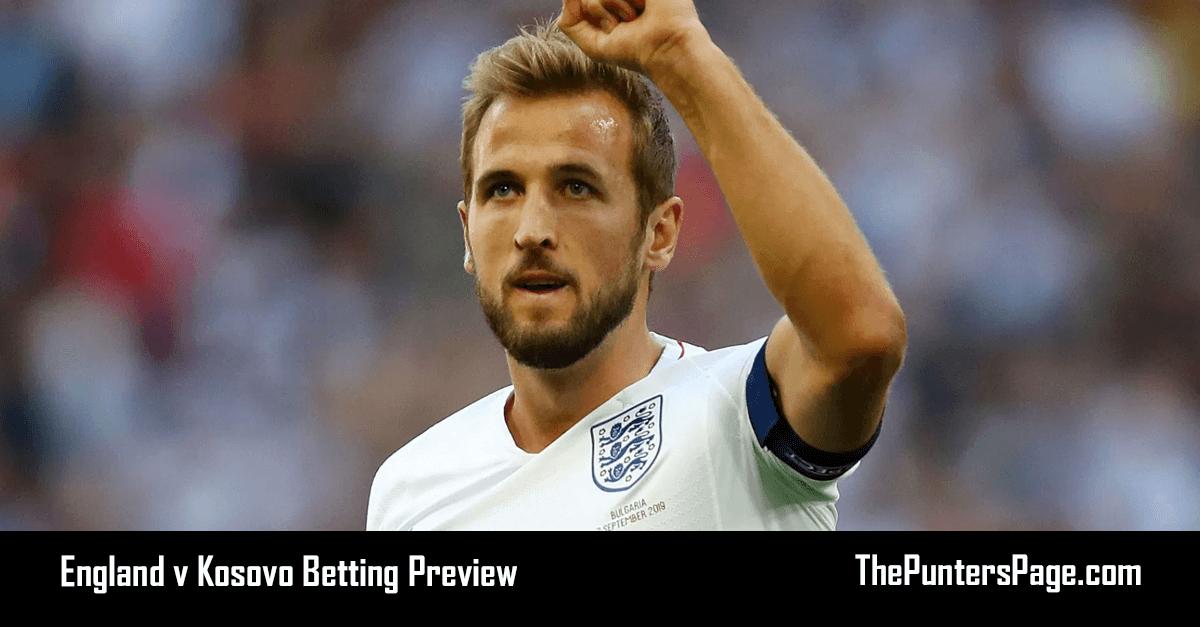 England v Kosovo Betting Preview, Odds & Tips