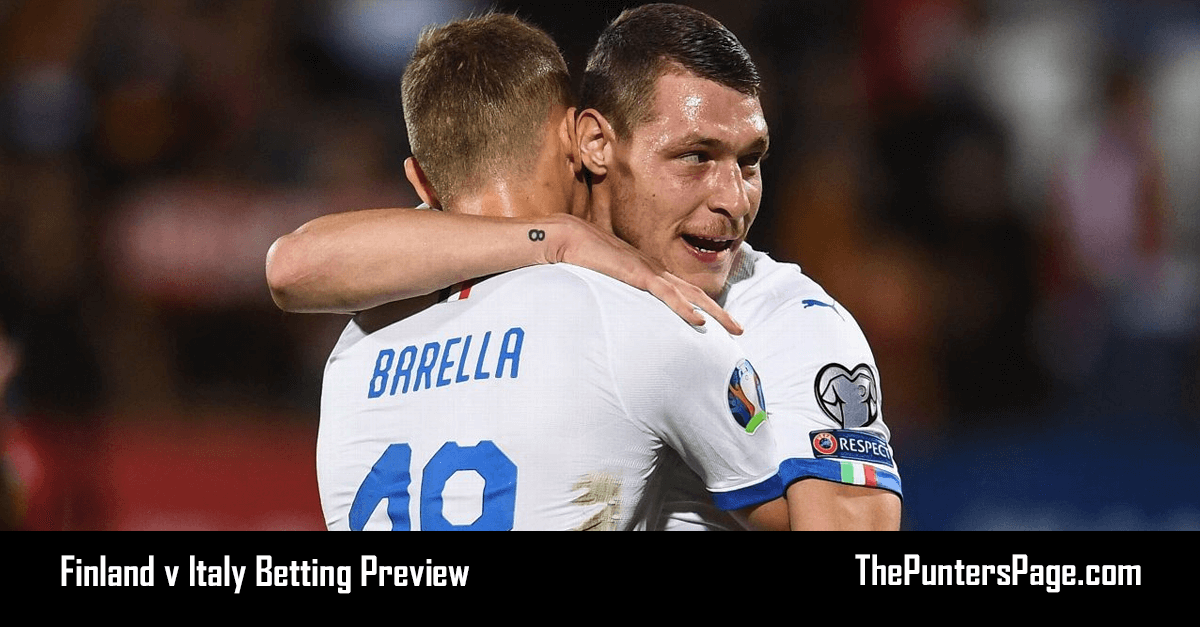 Finland v Italy Betting Preview, Odds & Tips
