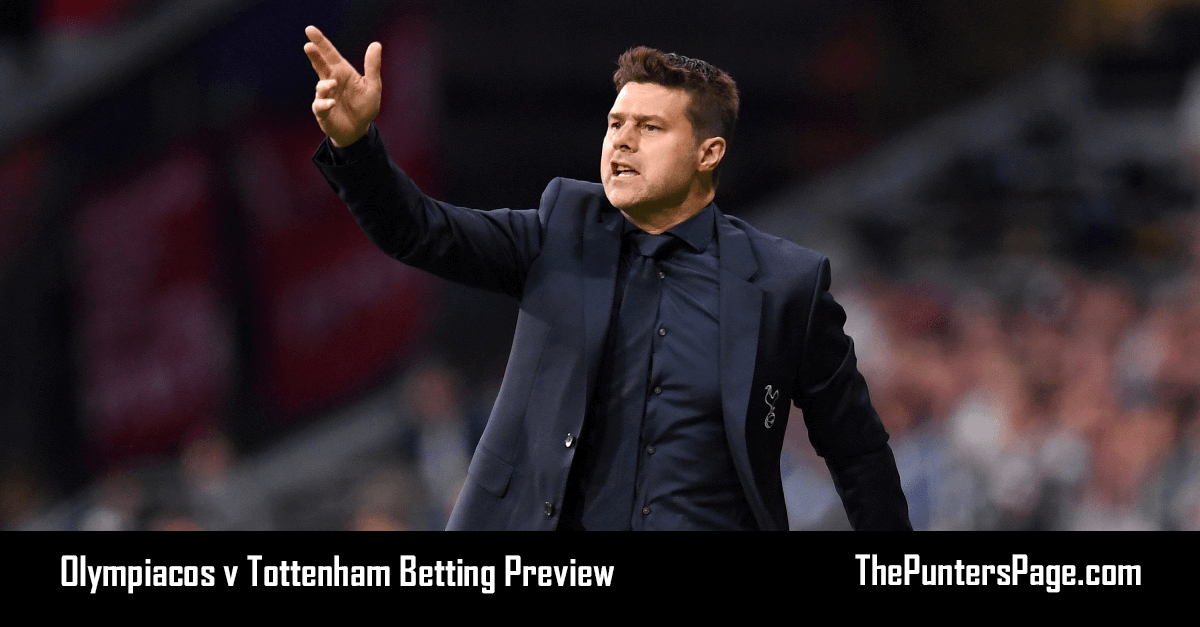 Olympiacos v Tottenham Betting Preview, Odds & Tips