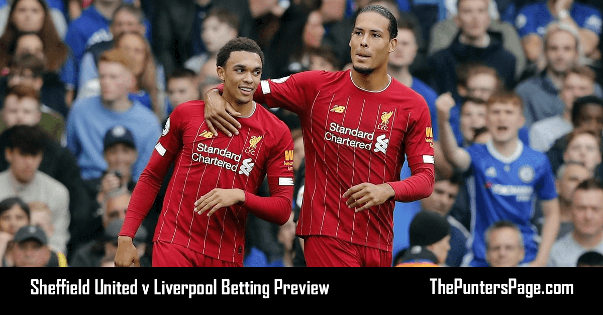 Sheffield Utd v Liverpool Betting Preview, Odds & Tips
