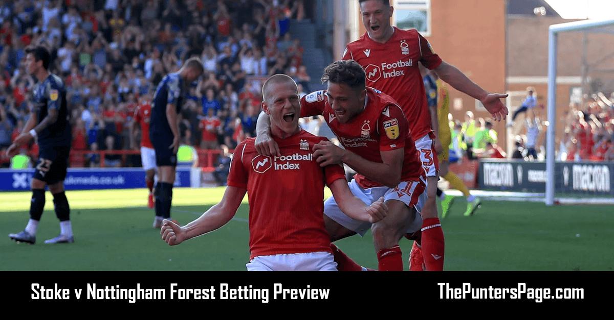 Stoke v Nottingham Forest Betting Preview, Odds & Tips