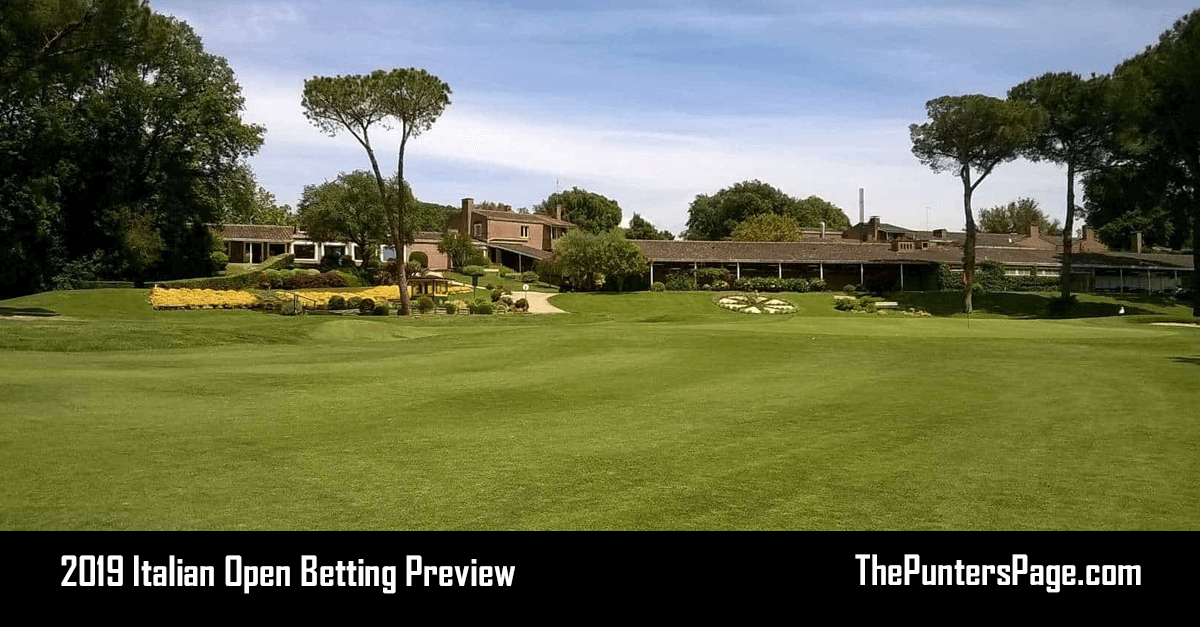 2019 Italian Open Betting Preview, Odds & Tips
