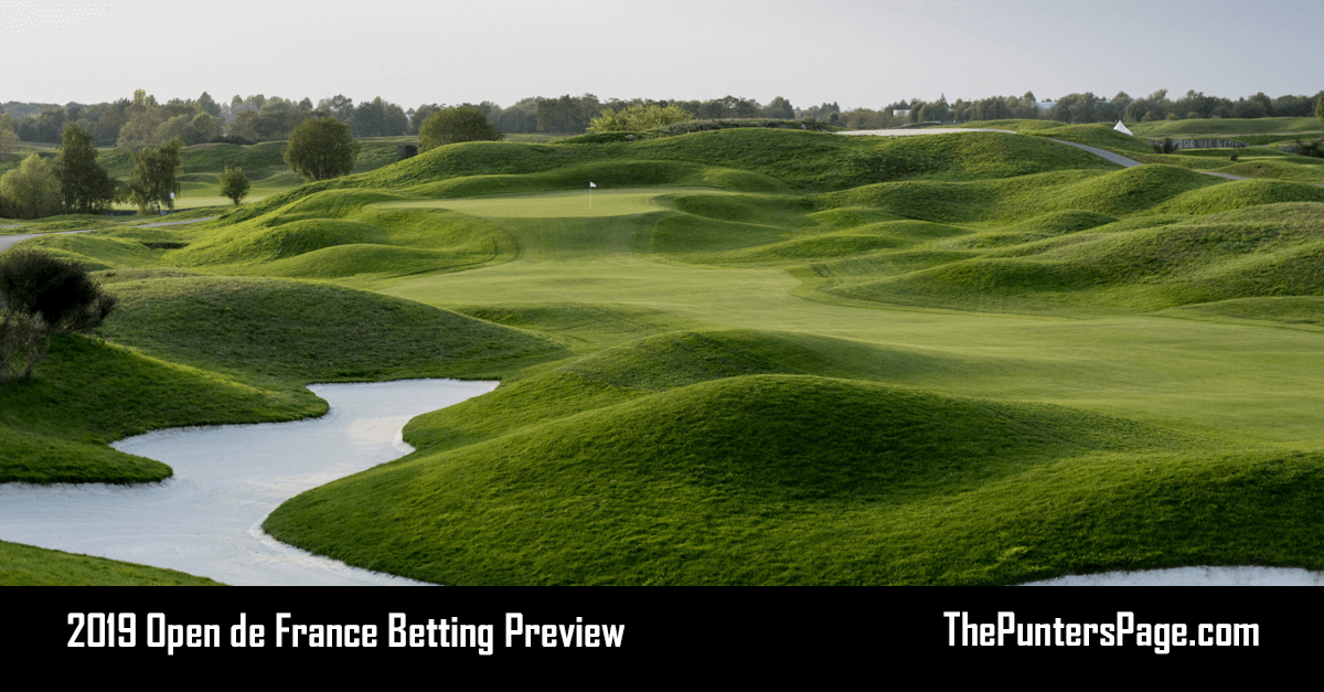 2019 Open de France Betting Preview, Odds & Tips