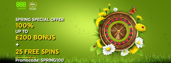 888casino seasonal offer
