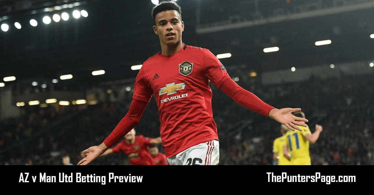 AZ v Man Utd Betting Preview, Odds & Tips