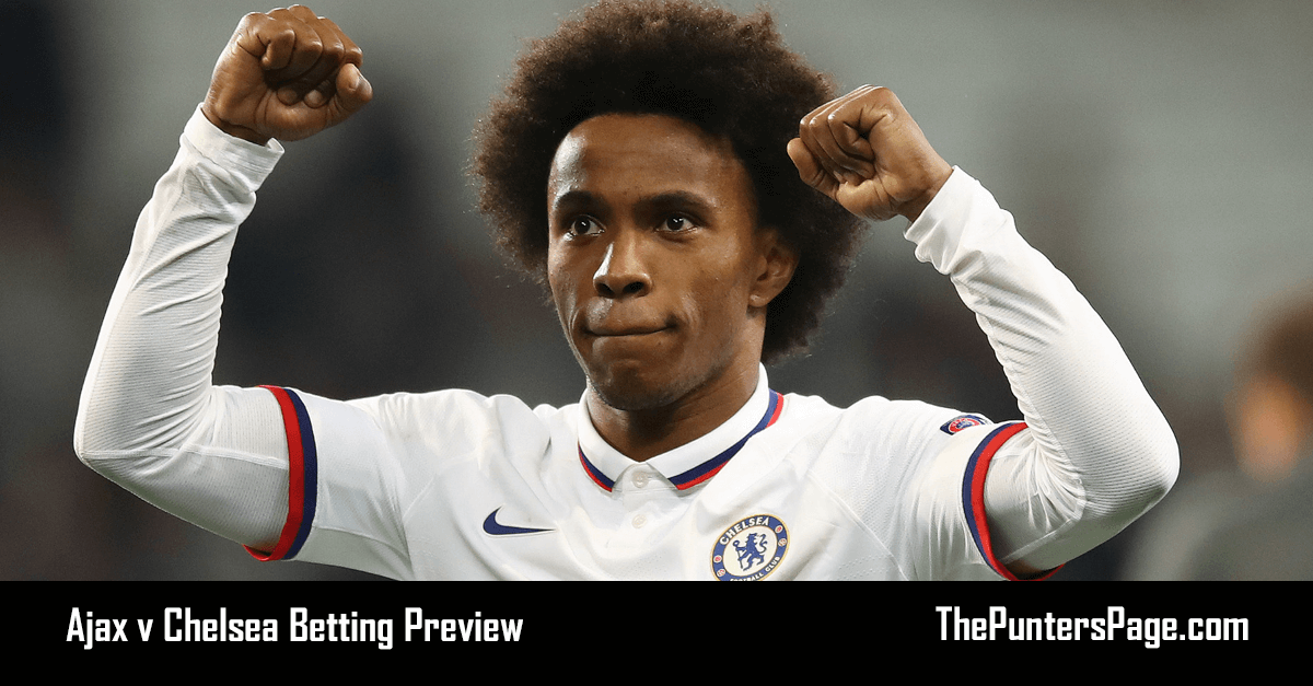 Ajax v Chelsea Betting Preview, Odds & Tips