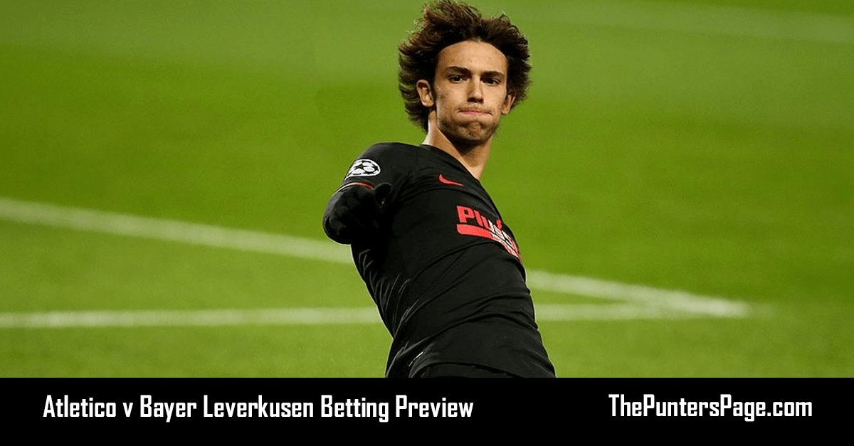 Atletico v Bayer Leverkusen Betting Preview, Odds & Tips
