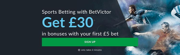 BetVictor Sportsbook Promotion Code