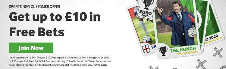 Betway sports offer 10 pounds