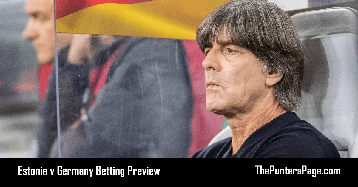 Estonia v Germany Betting Preview, Odds & Tips