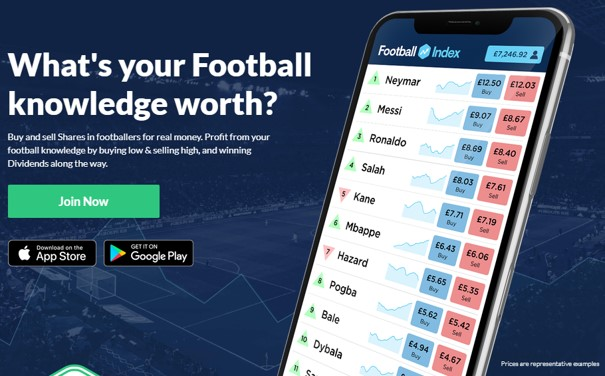 Football Index Landing Page