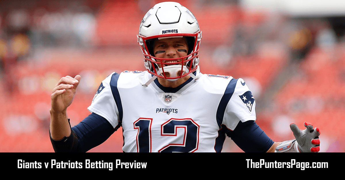 Giants v Patriots Betting Preview, Odds & Tips