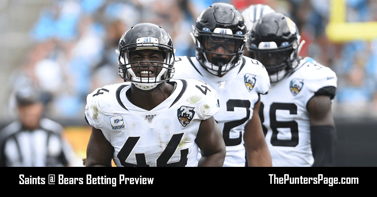 Saints @ Bears Betting Preview, Odds & Tips