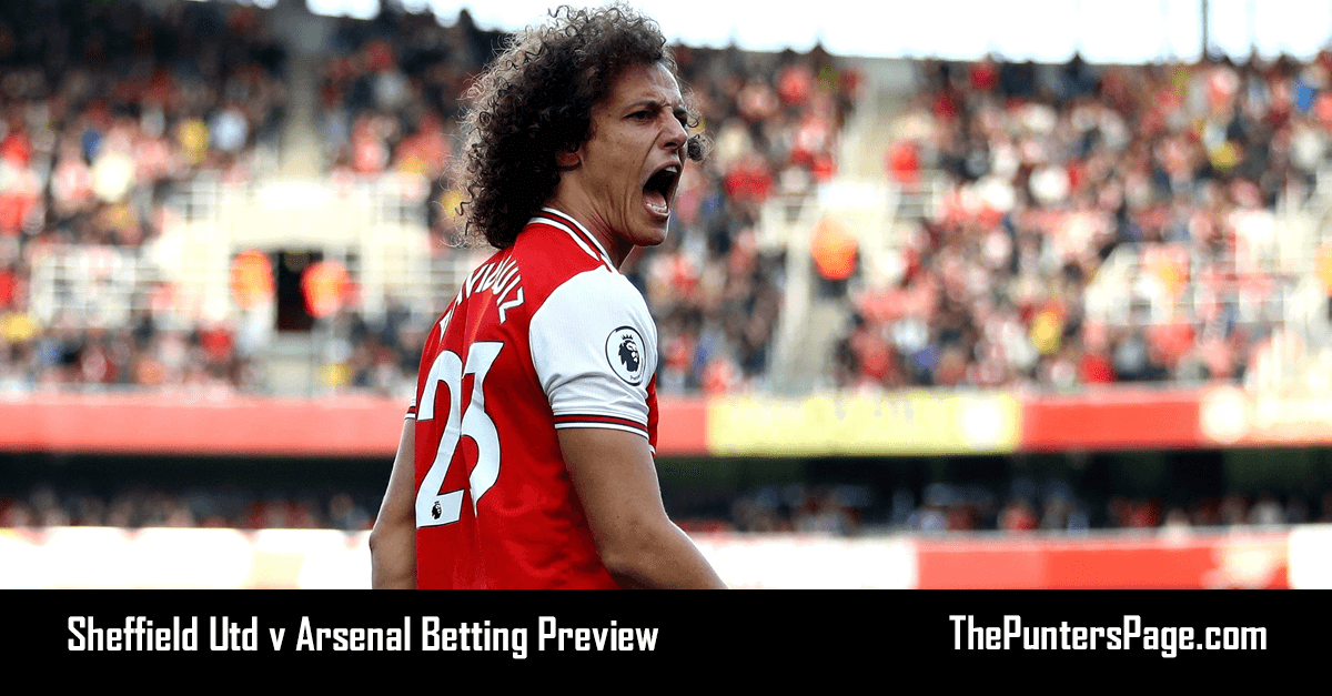 Sheffield Utd v Arsenal Betting Preview, Odds & Tips