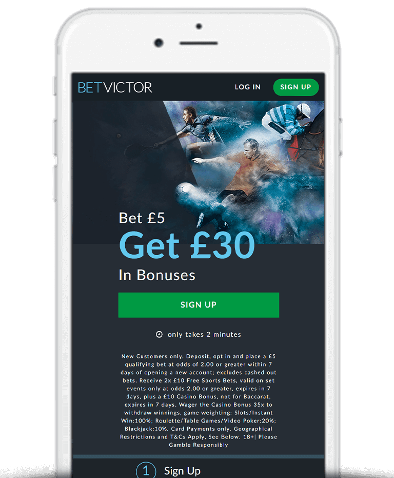 What Is The BetVictor Free Bet Sign Up Offer