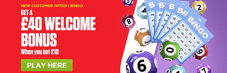Ladbrokes Bingo Welcome Offer