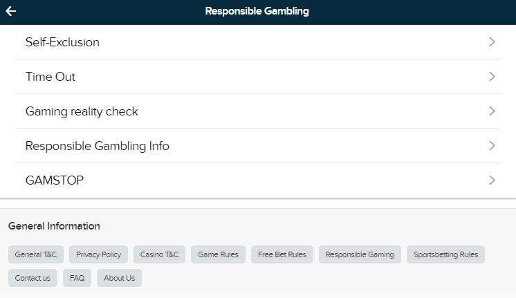 Responsible Gambling at BetBull