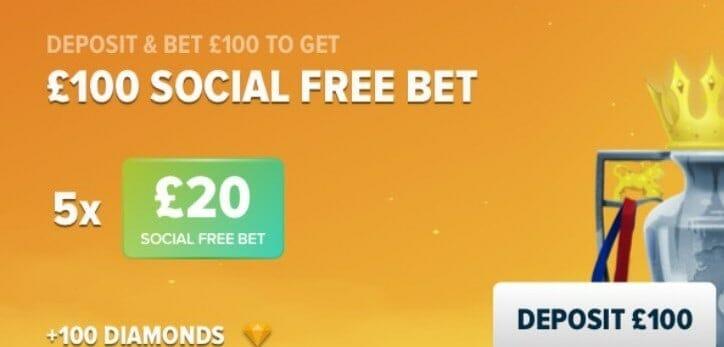 BetBull Social Free Bet £100