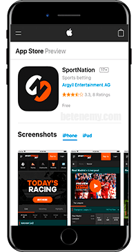 SportNation Mobile App iOS