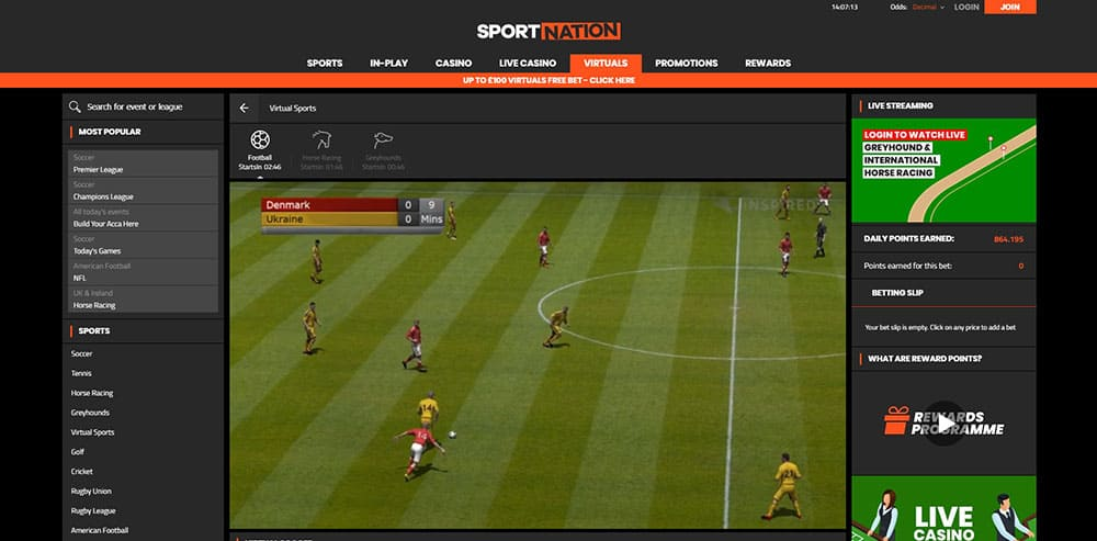 SportNation Virtual Sports