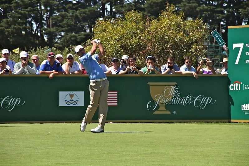 Australian Adam Scott at Golf Presidents Cup