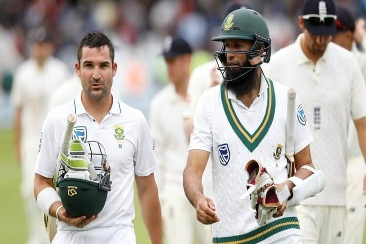 South Africa End Day 2 of the 2nd Test between Cricket England v South Africa, 2017, with a Lead of 205 Runs.