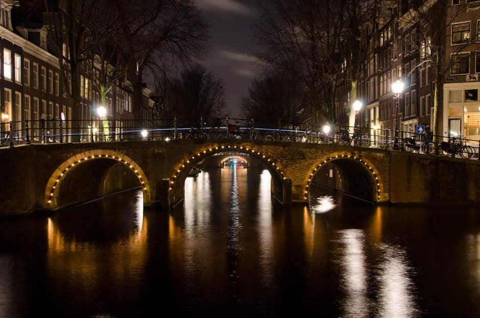 Holland Bridge by Night