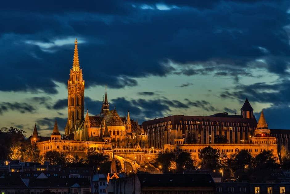 Hungary Budapest by Night