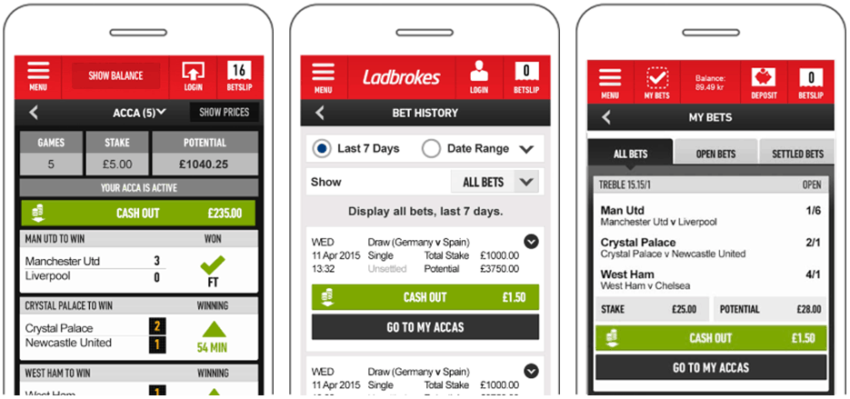 Mobile App Ladbrokes UEFA Euro 2020