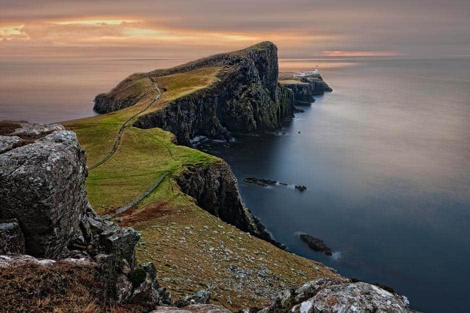 Scotland Rocky Seaside
