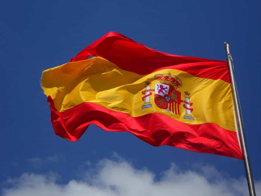 Spain Flag UEFA Euro 2020