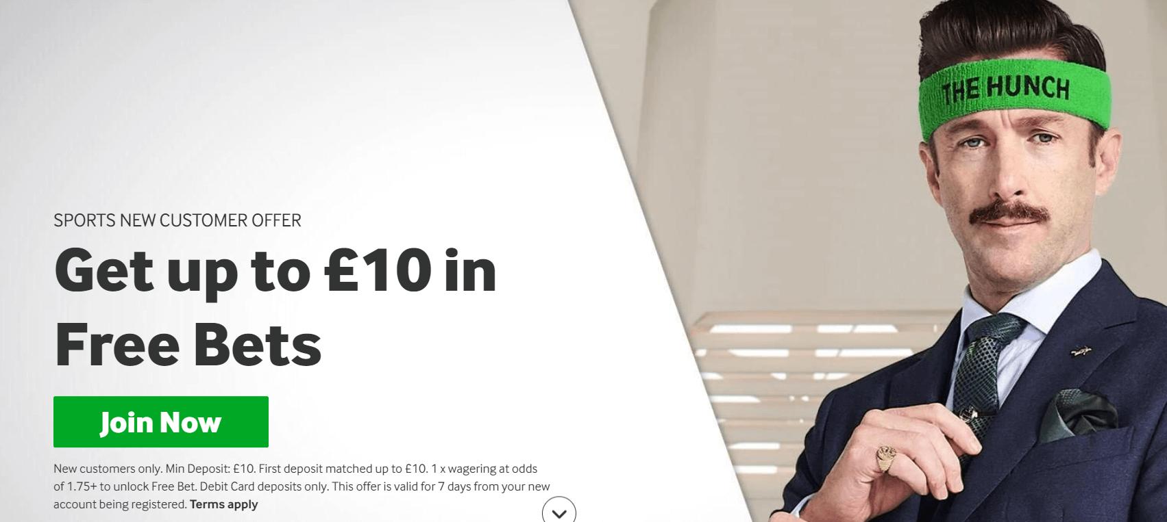 betway £10 bonus
