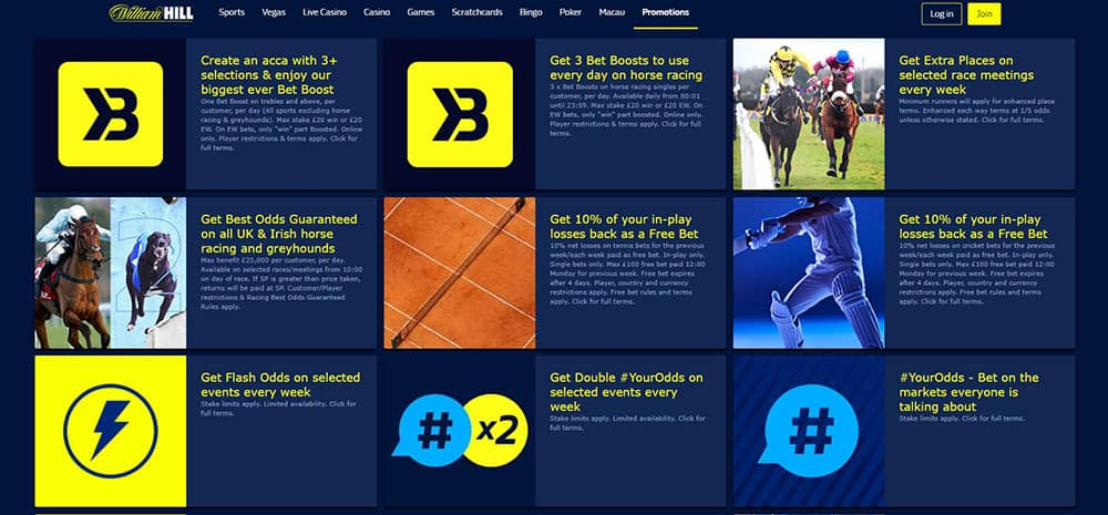 Promos and Offers on William Hill - What is a Bookmaker