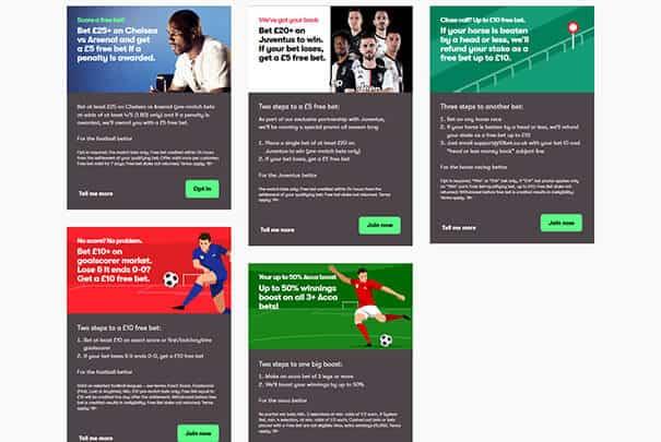 10Bet Sportsbook Promotions