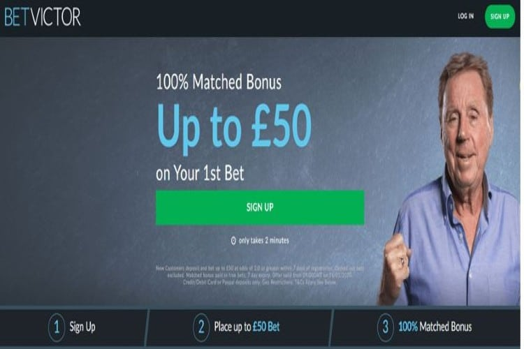 BetVictor Free Bet Promotion