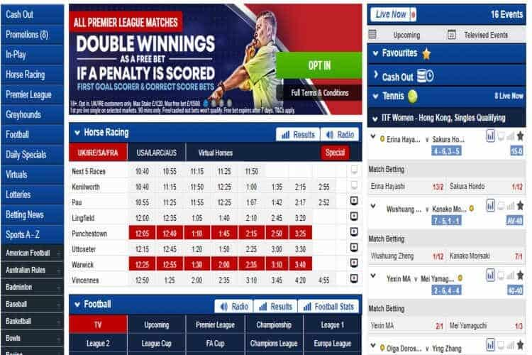 Pre-Match Offers - BoyleSports Betting Review