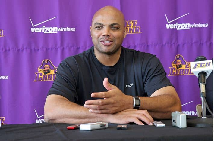 NBA Champion Charles Barkley speaks at conference