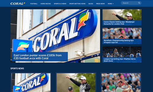 Coral news page