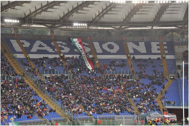 Stadio Olimpico for Rugby Match