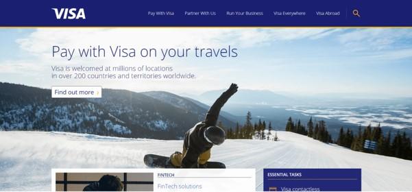 VISA Homepage